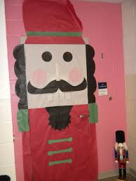Winter Themed Classroom Door Decorations by Classroom Door Decoration For Christmas Nutcracker Doors And