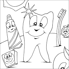 Free Printable Dental Coloring Pages For Kids
