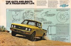 1977 Chevrolet Luv Pickup Truck Advertisement Motor Trend June 1977 ...