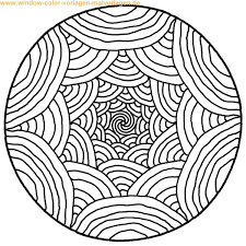Mandalas To Print And Color Malvorlage Ausmalbild Mandala Zum