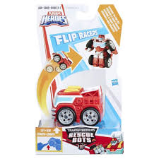Transformers Rescue Bots Flip Racers - Heatwave The Fire-Bot ...