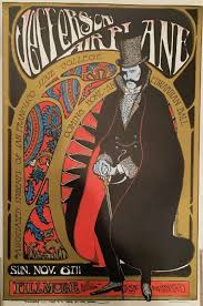 NEW YORK Iconic Concert Posters Of The Psychedelic Rock Era Have Top Billing In A Jasper52 Online Auction Dec 5 Topping Legendary Acts Such