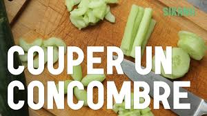 comment cuisiner un concombre couper un concombre cuisiner des légumes