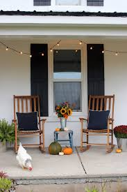 Fall In The Country - Our Front Porch - Life At Cloverhill Lovely Wood Rocking Chair On Front Porch Stock Photo Image Pretty Redhead Country Girl Nor Vector Exterior Background Veranda Facade Empty Archive By Category Farmhouse Hometeriordesigninfo For And Kids Room Ideas 30 Gorgeous Inviting Style Decorating New Outdoor Fniture Navy Idea Landscape Country Porch Porches Decks And Verandas Relax Traditional Southern Style Front With Rocking Vertical Color Image Of Chairs Sitting On A White Rockers The