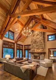 Hanging Drywall On Ceiling Trusses by Best 25 Exposed Trusses Ideas On Pinterest Rustic Sleeper