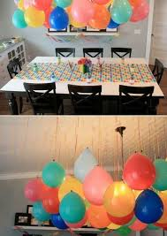 Balloon Decorations Without Helium Smart Since There Is A Global Shortage Cheap Easy Party Decor