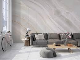 3d fototapete marmor wand heller stein