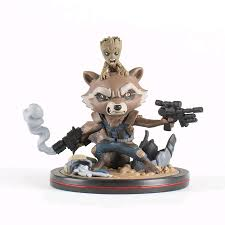 Sora Halloween Town Figure by Guardians Of The Galaxy Vol 2 Rocket U0026 Groot Q Fig Figure