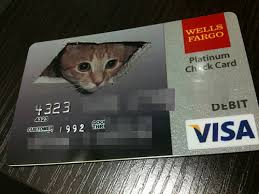 Coolest Credit Card Designs Ceiling Cat Customize Debit Card from