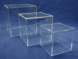Clear Acrylic Cubes And Plexi Boxes Made From Plexiglas Plexiglass Lucite Plastic