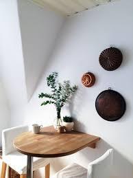 platzsparender essbereich im boho stil wohnung küche