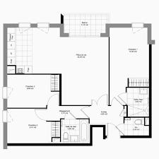 appartement 4 chambres plan maison 150m2 plain pied unique plan appartement 4 chambres