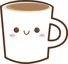 Cup Happy Coffee Chocolate PNG Image