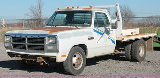 1992 Dodge D350 Flatbed Truck | Item AK9644 | SOLD! January ... Dodge Ram Pickup Heater Core Replacement 89 93 Cummins Diesel 1992 Ram 250 Photos Specs News Radka Cars Blog 350 Information And Photos Zombiedrive W250 Old And In The Way Power Magazine Chrysler Truck Sales Brochure Past Of The Year Winners Motor Trend Vin 3b7km23c0nm506897 Autodettivecom Ramv8chargers Profile In Saskatoon Sk Cardaincom Blackdragon007 Wseries Le For Sale On Bat Auctions Sold 1999 1500 Addon Replace Gta5modscom