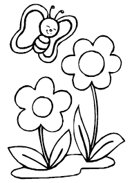 Cute Flower Coloring Pages Big Spring