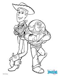 Coloriage Disney Toy Story 3 Sheriff Woody