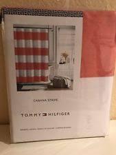 tommy hilfiger striped shower curtains ebay