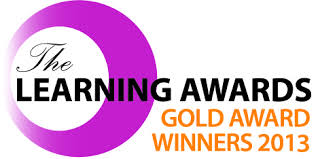 Learning Awards 2013 Gold Logo