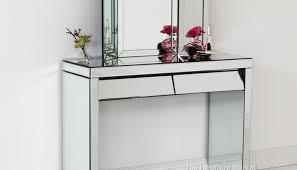 Waterfall Vanity Dresser Set by Mirror Vintage Furniture Wonderful Art Deco Mirrored Dressing