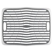Sink Protector Mat Amazon by Amazon Com Oxo Good Grips Sink Mat Large Dish Racks Kitchen