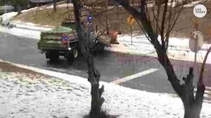 100 Truck Slides Salt Truck Slides Down Slippery Minnesota Road