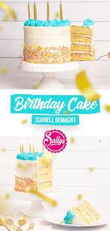 einfache geburtstagstorte birthday cake mit