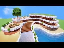 maison de luxe minecraft comment faire une villa de luxe sur minecraft tuto