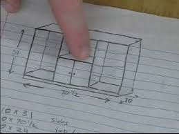 how to build a wooden bookshelf laying out the permanent shelf