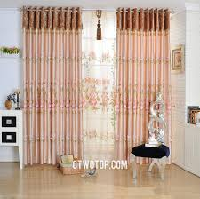 Country Swag Curtains For Living Room by Peach Pink Swag Overstock Cheap Pleat Country Curtains
