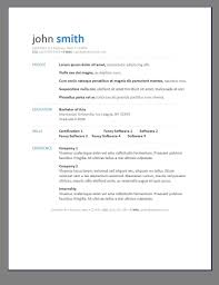 Template Resume Libreoffice Choice Image Certificate Design And