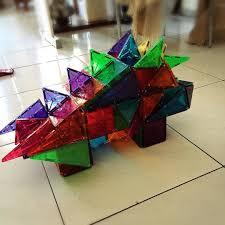 Picasso Magnetic Tiles Uk by Magna Tiles Stegosaurus Dinosaur By Magna Tect Keenan Magna