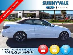 Brake And Lamp Inspection Fremont Ca by Used Mercedes Benz E Class For Sale In Fremont Ca Edmunds