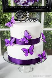 Beautiful Black And Purple Wedding Cakes Styles Ideas
