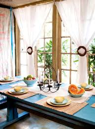 Green Dining Room Curtains Yellow Velvet White Curtain Panels Style Kitchen Window