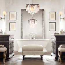 Chandelier Over Bathroom Sink by Articles With Chandelier Over Bathroom Vanity Tag Amazing