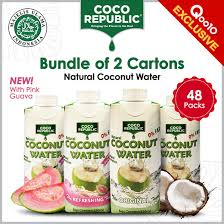 101 Coco Republic Warehouse Qoo10 Natural Nut Water Bundle Of 2 Deals Exp Aug 22 Drinks