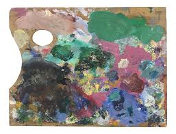 French Wood Painters Palette