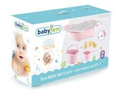 badezimmer eimer für neugeborene babyjem babywannenset mit 5