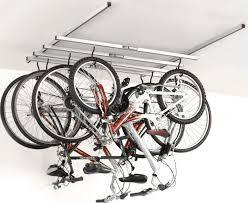 bikes flat bike lift garage ceiling bike storage vertical bike