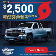 100 Norfolk Truck Hurricane Relief Assistance Rick Hendrick Chevrolet Near