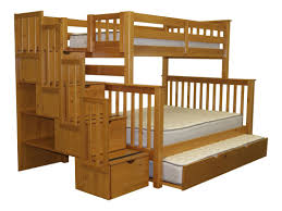 Wood Bunk Beds With Stairs Plans by Bedroom Bunk Beds With Stairs And Storage Plans Bunk Beds With