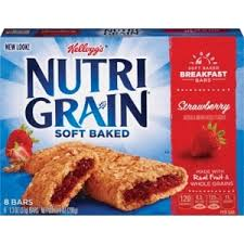 Kelloggs Nutri Grain Cereal Bars Strawberry