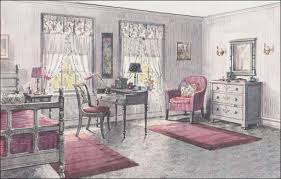 1923 Gray Pink Bedroom