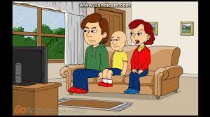 Caillou Dies In The Bathtub by Caillou Makes A Fake Lockdown Grounded Youtube
