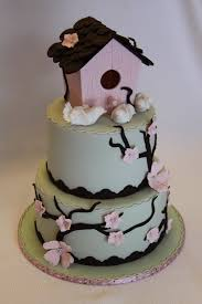 Birdhouse Housewarming Cake