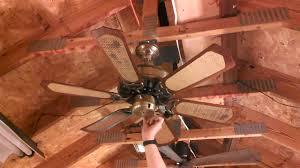 homestead whisperfan iii ceiling fan model hp 30 with cane blades