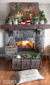 Christmas Fireplace Decorating Ideas 23