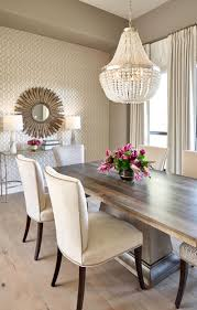 100 Dining Room Chairs With Oak Accents Transitional With European White Floors And