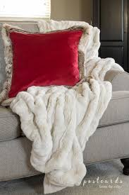 6 Ideas For Creating A Cozy Christmas Mood - Postcards From The Ridge Best 25 Pottery Barn Blankets Ideas On Pinterest Ladder For Gorgeous Faux Fur Throw In Bedroom Contemporary With Bed Headboard Pottery How To Clean Faux Fur Throw Pillow Natural Arctic Leopard Limited Edition Blankets Swoon Style And Home A Pillow Tap Dance Tips Jcpenney Pillows Toss Barn Throws Sun Bear Ivory Sofa Blanket Cover Cleaning My Slipcovered One Happy Housewife Feather Print Decorative Inserts Lweight Cosy Cozy Holiday Decor Ashley Brooke Nicholas