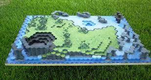 3d Foam Hex Map